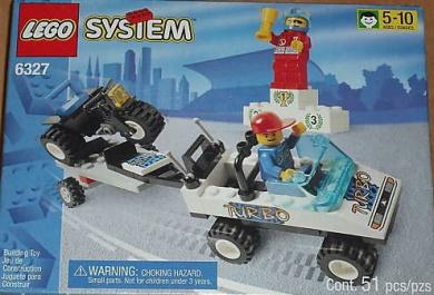 Lego 6327 Turbo Champs Racing