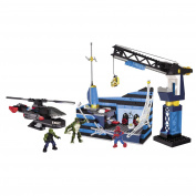 Mega Bloks Spiderman 4 Oscorp Tower