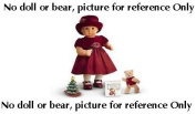 """Bitty Baby """"Rosy Red Set"""" for 38cm doll -NO doll or bear-"""