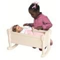 Doll Cradle- White