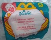 Birthday Party Barbie #9 - 1999 McDonalds Toy