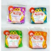 McDonalds - Nascar Hot Wheels Complete Happy Meal Set - 1998