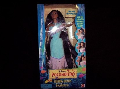 Disney's Pocahontas Shining Braids Doll