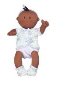 Dexter Toys DEX1502B AfroAmerican Baby Blue Clothes