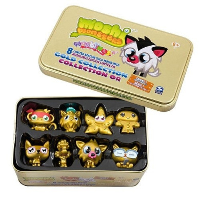 Moshi Monster Accessories - Collector Tin - Version 1