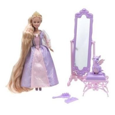 Barbie Princess Mini Kingdom Mini Barbie Rapunzel Doll