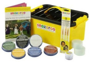 Face Painting Mini Starter Kit Water-Based, Easy-On & Easy-Off and Non-Toxic