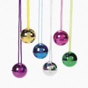 Disco Ball Necklaces - Novelty Jewellery & Necklaces