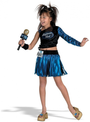American Idol San Francisco Audition Costume: Girl's Size 4-6