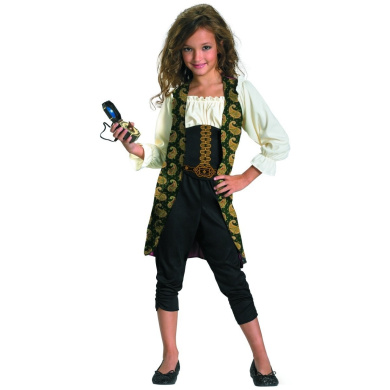 Disguise 198241 Pirates of the Caribbean 4 On Stranger Tides- Angelica Child Costume