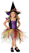 Girls or Toddler Glitter Witch Costume