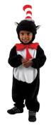 Dr. Seuss Cat in Hat Kids Costume - Baby Costume/12- .