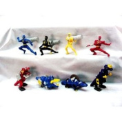 McDonalds - Power Rangers Happy Meal Set - 2003