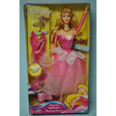 Disney Princess - Sleeping Beauty Dancing Ballerina 30cm doll - Mattel Toys