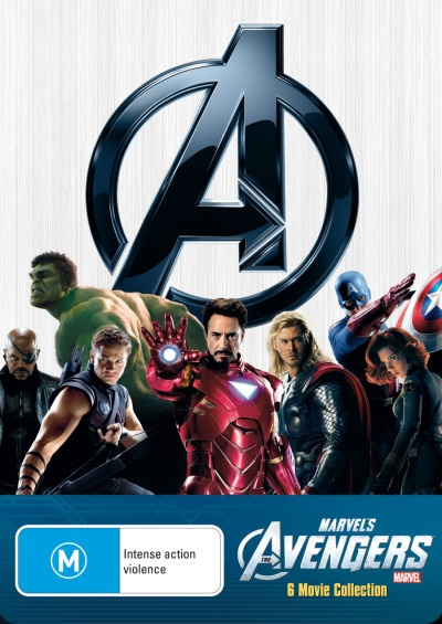 The Avengers 6 Movie Collection (Captain America / Hulk / Iron Man / Iron  Man 2 / The Avengers