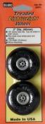 Du-Bro 200TL 5.1cm Diameter Treaded Lightweight Wheel