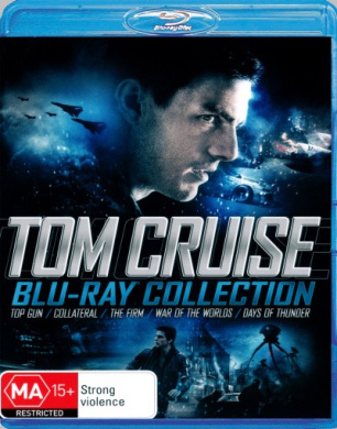 Top Gun / Collateral / The Firm / War of the Worlds (2005) / Days of Thunder (Tom Cruise Blu-Ray Collection)