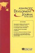 Asia-Pacific Development Journal