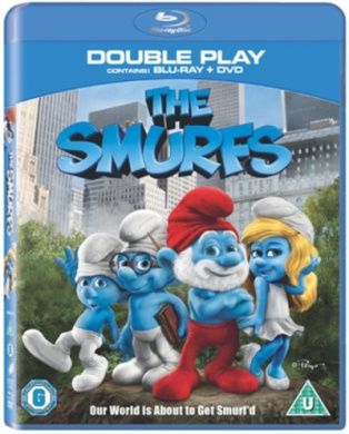 The Smurfs Double Play (Blu-ray, DVD) [Blu-ray]
