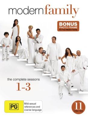 Modern Family: Season 1 - 3 (11 Discs)