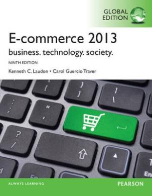 E-Commerce 2013: Global Edition