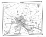 Brechin 1862 Heritage Cartography Victorian Town Map