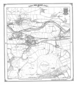 Melrose 1859 Heritage Cartography Victorian Town Map