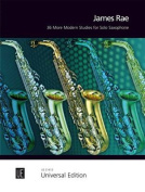 36 More Modern Studies for Solo Saxophone