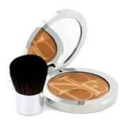Diorskin Nude Tan Healthy Glow Enhancing Powder (With Kabuki Brush) - # 004 Sunset, 10g/10ml