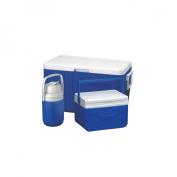 Coleman Blue Cooler Combo with 45.4l Cooler, 45.4l Cooler, and 1.3l Jug
