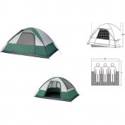 GigaTent Liberty Mt. 9' x 7' Dome Tent, Sleeps 3 - 4
