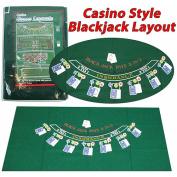Trademark Poker Blackjack Layout