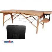Ironman 80cm . North Hampton Massage Table with Carry Bag