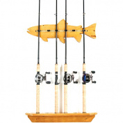 Organized Fishing FWR-006 Fish Wall Rack 6 Capacity