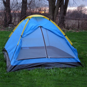 Happy Camper Two Person Tent with Carry Bag - Blue