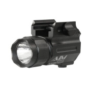 Aim Sports Inc Flashlight 150 Lumens With Quick Release Mount Colour Filtered Lenses / Compact