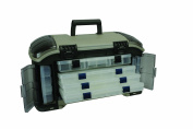 Plano Guide Series Angled StowAway System with Nine Utilities, Graphite/Sandstone