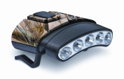 Cyclops CYC-HCDT-WGRT Tilt White/Green LED Hat Clip Light, Camouflage