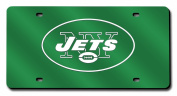 NFL - New York Jets Green Licence Plate Laser Tag