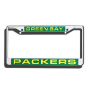 NFL - Green Bay Packers Laser Chrome Licence Plate Frame