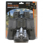 Vivitar Value Series 8x50 and 4x30 Binocular Set