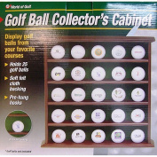 Jef World of Golf 25-Ball Display Cabinet, JR625
