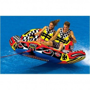 SportsStuff 53-1780 SPORTSSTUFF CHARIOT WARBIRD 2 Inflatable Tube