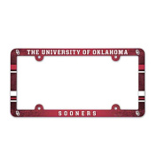 NCAA - Oklahoma Sooners Plastic Licence Plate Frame