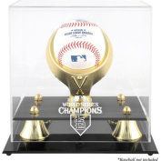 MLB - St. Louis Cardinals 2011 World Series Golden Classic Single Baseball Logo Display Case