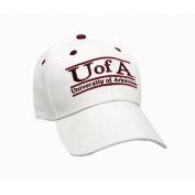 NCAA - Arkansas Razorbacks 'The Game' Classic White Bar Adjustable Hat