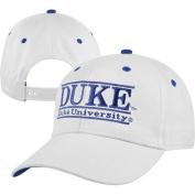 NCAA - Duke Blue Devils 'The Game' Classic White Bar Adjustable Hat