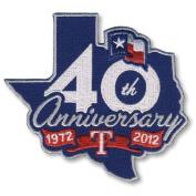 MLB - Texas Rangers 40th Anniversary Patch