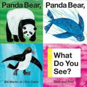 Panda Bear, Panda Bear, What Do You See? (Slide and Find) [Board book]