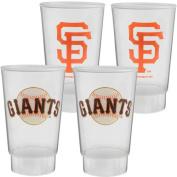 MLB - San Francisco Giants Plastic Tumbler 4-Pack